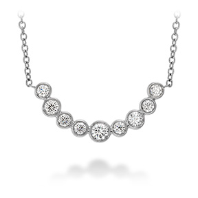 Copley Bezel Necklace