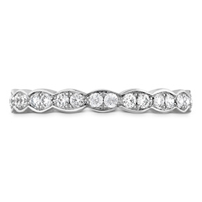 Lorelei Floral Eternity Band