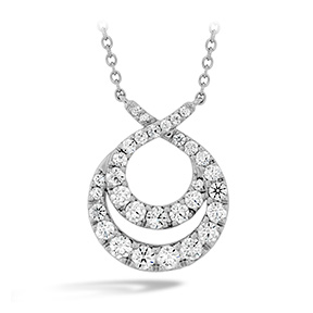 Optima Double Circle Diamond Necklace