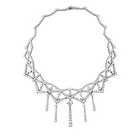 Triplicity Diamond Collar